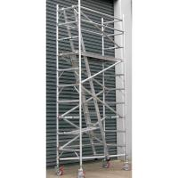Buy cheap Indoor Adjustable Safety Lightweight Aluminium Mobile Scaffold For Cleaning Window product