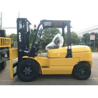 Buy cheap Automatic 5 Ton Diesel Forklift Truck With Optional Isuzu Engine / Cab Heater product