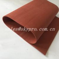 Buy cheap Red / Transparent Soft Flexible Silicone Rubber Foam Sheet Thickness 0.1-30mm from wholesalers