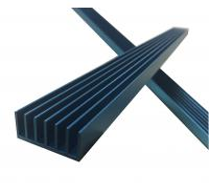 Buy cheap 6061/6063/6005/6105 Aluminum Heat Sink T3-T8 Temper GB/T5273-2006 Standard product