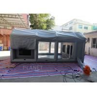 Buy cheap PVC Tarpaulin Outdoor Inflatable Spray Booth Garage Tent Customized Size product