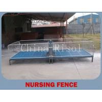 Buy cheap new design galvanized pipe fence from wholesalers