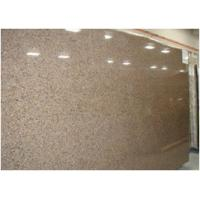 Buy cheap Custom Tropical Brown Granite Floor And Wall Tiles CE Certification product