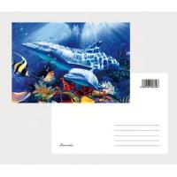 Buy cheap 2021 Hot sale cheapest 3D Lenticular  printing business photography cards lenticular postcards/ 3D Christmas cards product