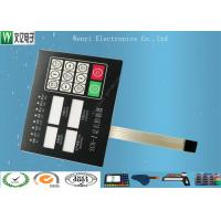Buy cheap Clear Window Polydome Switch Membrane Control Panel With 8 Pin Female Connector product