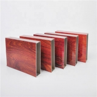 Buy cheap Wood Grain 9 inches General Rectangular Aluminum Extruded Profiles product
