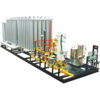 Buy cheap Outdoor Small Modularity Regulating Metering LNG Skid Mounted Equipment 0.2-3MPa product
