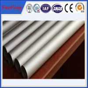 Buy cheap Polishing/anodized/electrophoresis aluminium pipes tubes rectangular aluminum tube product