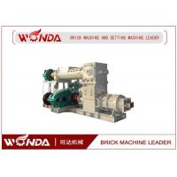 Reamer Soild Clay Brick Making Machine , Clay Brick Extruder Machine Large Output