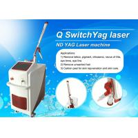 Buy cheap Dual Lamp Q Switched ND YAG Laser Machine Tattoo Removal / Pigmentation Removal Machine product