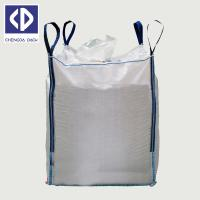 Buy cheap Packing Wheat 1000Kg Woven Polypropylene Bags White Color UV Stabilization product