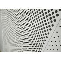 Buy cheap Decorative Perforated Aluminum Sheet 5005 For The Curtain Wall / Electric Conductor product