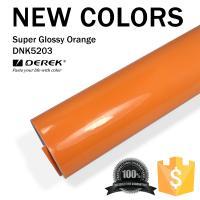 Buy cheap Super Glossy Car Wrapping Film - Super Glossy Orange product