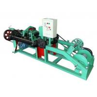 Buy cheap Automatic Barbed Wire Making Machine , Wire Mesh Welding Machine 2.2KW Motor product