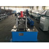 Quality High Speed Steel Stud Roll Forming Machine by Gear Box Cassette Type , Manual Decoiler for sale