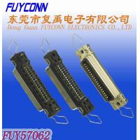 180 Degree PCB Mount Straight Female Connector 36 pin For Printer