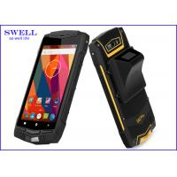 Quality 5 Inch Rugged Waterproof Smartphone gps barcode device with 2 sim cards for sale