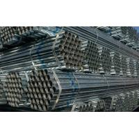 Buy cheap ASTM A53, BS1387, DIN2244 ERW Black / Galvanized / oil coated GB Welded Steel Pipes / Tube product