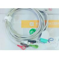 Buy cheap Gray Color GE One Piece Ecg Patient Cable For Patient Monitoring Devices product