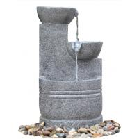 Buy cheap Granite Color 3 Tier Outdoor Water Fountains CE / GS / TUV / UL Approved product