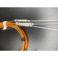 Buy cheap CE Thermocouple RTD Type J With Kapton Insulated Cable For Plastic Industry product