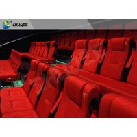 Buy cheap Film Projector 3D Cinema System With Plastic Cloth Cover Chair 100 People product