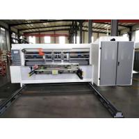 Buy cheap Carton Box Automatic Corrugated Water Ink Printer Slotter Machine from wholesalers