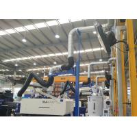 Buy cheap Self - Supporting Fume Extraction Arms Metal Hood 4 meters With Blast Gate product