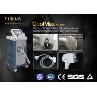Buy cheap Mixed Wavelength Diode Laser Hair Removal Machine Arm Use With Cooling System 220V product