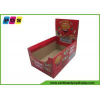 Buy cheap Corrugated Gift Packaging Boxes Color Printed Two Sides Standee Display CDU007 from wholesalers