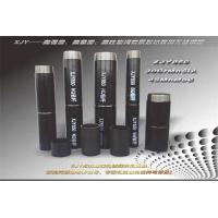 Buy cheap Black Drill Rod Seamless Drill Pipe High Tolerance 3 - 11.8m Length 2 - 15m WT Size product