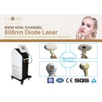 Buy cheap 60Hz 808nm Diode Laser For Hair Removal, Permanent Hair Removal Laser MachineBig Spot Size product