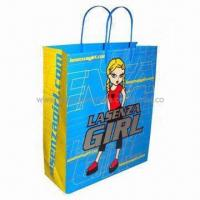Buy cheap Promotion paper shopping bag, fancy design, low price, Eco-friendly product