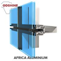 Buy cheap 6000 Series Grade and T3-T8 Temper Aluminium profile for curtain wall product