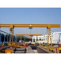 Buy cheap General Purpose Electric Overhead Gantry Crane With 2.5 - 100t Rated Capacity, 30m Span product