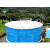 Buy cheap NSF 61 Glass Lined Steel Industrial Water Tanks For Potable Water Storage Project product