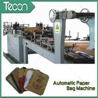 Buy cheap 3 Kraft Paper 1 PP Film 20KG Ceramic Adhesive Paper Bag Making Machine Driven By Schneider Electric Motor product