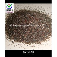 Buy cheap Brown / Pink / Red Color Garnet Blasting Media For Stone Building Facades product
