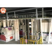 Buy cheap Steel Structure Livestock Animal Feed Production Line 2-12 Mm Pellets Diameter product