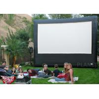 Buy cheap Portable Inflatable Movie Screen , Customized Size Inflatable Cinema Screen product