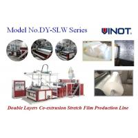 Buy cheap Horizontal Stretch Film Rewinding Machine / Cast Film Extruder product