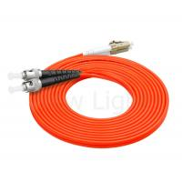 Buy cheap multi  mode ST-LC connector optical fiber patch cord  0.9 / 2.0 / 3.0    pvc / lszh cable product