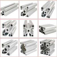 Buy cheap Heavy Weight Bearing 45mm Square Exhibition Display Aluminum Profiles product