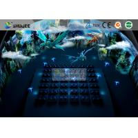 Buy cheap New 5D movie theater , Thrilling Motion Chairs And Special Effect product