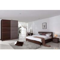 Buy cheap Luxury Hotel Particleboard Melamine Bedroom Furniture With Night Stand product