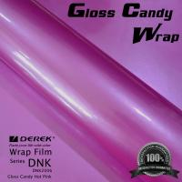Buy cheap Gloss Candy Hot Pink Vinyl Wrap Film - Gloss Hot Pink product