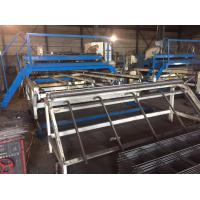 Buy cheap Customized 3.2 Meter Width Welded Mesh Machine 30 - 50 Times Per Minute product