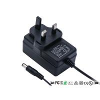 Buy cheap 12V 2A AC DC Power Adapter UK 3pin Plug In Wall Mount Power Supply With CE GS TUV product