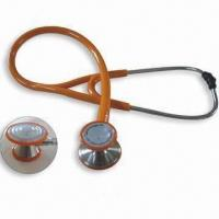 Buy cheap Stainless Steel Stethoscope, Suitable for Variety of Applications, OEM Orders are Welcome product