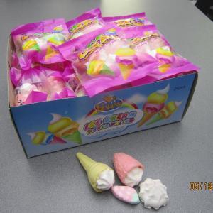 Buy cheap 4 in 1 Marshmallow/ Ice Cream+Bun+Strawberry+cake Shaped Sweet Marshmallow product